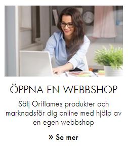Sälja skönhetsprodukter med Oriflame